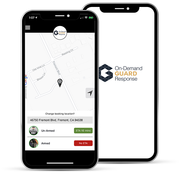 On-demand Guard Response app