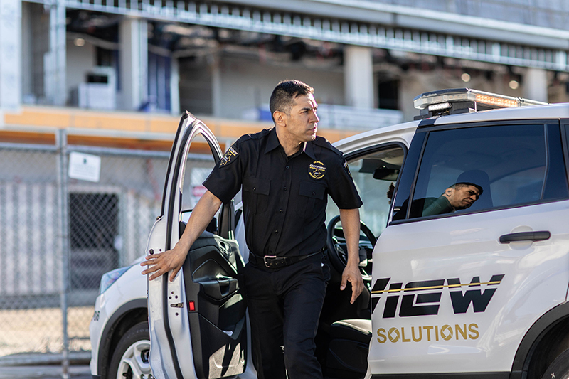 High visibility patrol services promotion