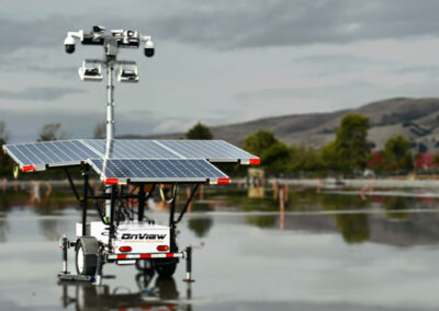 Solar Powered Security Trailers